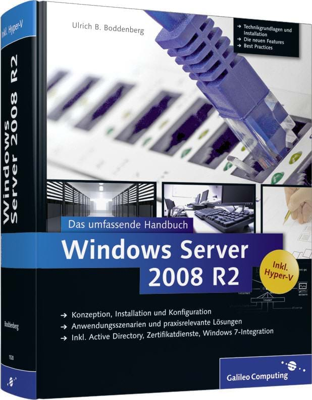 Windows Server 2008 R2 (Rheinwerk (Galileo Computing), 2010)
